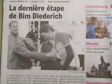 VELO : JOURNAL DU DECES DE : BIM DIEDERICH 07/12/2012 - POINT 24