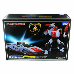 Transformers Masterpiece MP-14+ MP14+ Red ALERT Action Figures Robots Toys