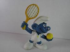 A19- Schlumpf / Smurf 2.0093 Tennisschlumpf 2 ,Schläger angegossen