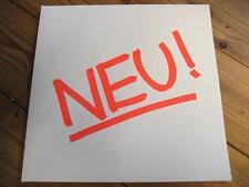 "NEU ! ""SAME"" - LP - FOC - WHITE VINYL - KLAUS DINGER MICHAEL ROTHER - KRAUTROCK"