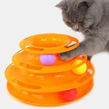 Juguete para GATOS y mascotas pequeñas. Torre de bolas ¡Entretenidos por horas!