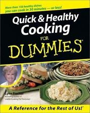 Quick & Healthy Cooking For Dummies-ExLibrary