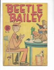 Beetle Bailey #16 1963 Australian Feast Cover!