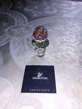 swarovski crystal figurines flowers