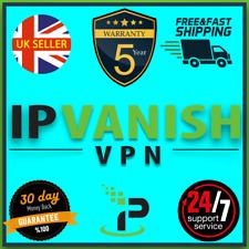 Ipvanish vpn   premium subscription   5 years warranty   auto renew   fast ship✅