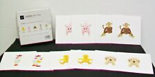 Baby GAP 2002 Squeaker 10 Note Cards & Envelopes Lucky Squiggy Max Brewster Sam
