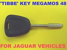 NEW UNCUT Tibbe Transponder Chip Key Megamos 48 HJD7230AA1 For Jaguar XK XJR XJ8