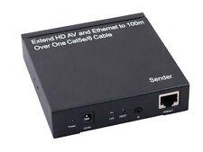 HDMI extender by Single Cat5e HDBaseT 100M 4Kx2K IR Full3D Ethernet Switch