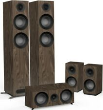 Jamo S807 HCS 5.0 Speaker Package - Home Theatre Cinema Loudspeakers WALNUT