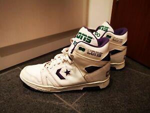 Converse Cons 100 erx vintage basketball leather shoes us 11 260 400 purple