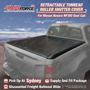 Retractable Tonneau Cover Roller Shutter for Nissan Navara NP300 Dual Cab SYD