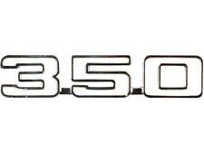 "1970-1974 Nova "" 350 "" Front Fender Emblem EACH - OER 3970546 New"
