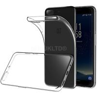 Clear Silicone Slim Gel Case For OnePlus 5