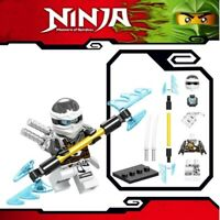 Ninjago Zane ZX Sword Master of Spinjitzu Custom Lego Mini Figure Lloyd Ninja