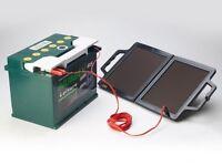 Folding Portable Solar Panel Fold Battery Charger 12V 4W for Caravan Camper UK
