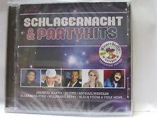 SCHLAGERNACHT & PARTYHITS 2 CD NEU & OVP 886979794825     REGAL5