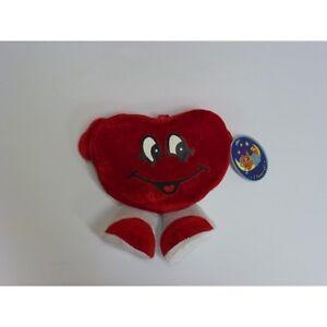 PELUCHES SAN VALENTINO pupazzo CUORE sorriso idea regalo amore anniversario love