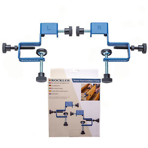 Rockler Adjustable Drawer Front Installation Clamp Carpentry Woodworking Tool