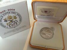 "Vatikan 10 Euro 2009 Silber PP proof "" 80 Jahre Gründung Vatikan Staat """