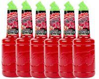 6 Pack Finest Call 1 Liter Premium Watermelon Puree Mix Mixer WEB Sweetener