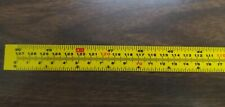 """Self Adhesive Benchtop Tape Measure 3/4"""" width 0-50"""" (0-127cm) Reads L-R and R-L"""