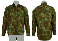 Chemise modèle M90 camouflage feuille de l'armée ROUMAINE en taille M - Neuve