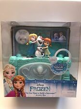 Disney Frozen Musical Jewelry Box  'Do You Want to Build a Snowman'  Olaf Elsa