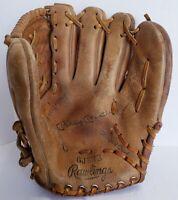 Vtg. RAWLINGS MICKEY MANTLE GJ333  Child's Baseball Glove, Deep Well Pocket