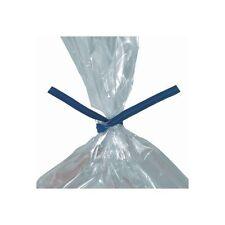 """Paper Twist Ties, 4"""" x 5/32"""", Blue, 2000/Case"""