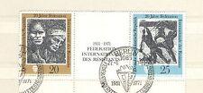 Q6584 - GERMANIA - 1971 - BLOCCO USATO POSTA ORDINARIA - VEDI FOTO