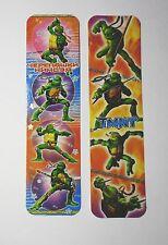 Teenage Mutant Ninja Turtles 2pcs Cardboard Bookmarks 6.5'' lenght (16cm).