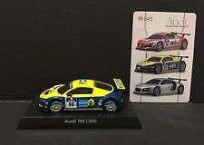 Kyosho 1:64 Scale Audi R8 LMS #98 BILSTEIN Diecast Car Model Yellow and Blue