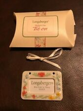 Longaberger 2002 Mother's Day Frame tie-on - new in box
