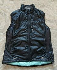Rab Primaloft Pertex Generator vest/gilet black womens size 14 *excellent*