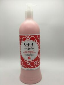 OPI Avojuice CRAN and BERRY 32oz Cran & Berry Hand Body Moisturizer Lotion