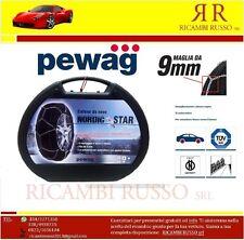 CATENE DA NEVE 9 mm PEWAG NORDIC STAR GRUPPO 14 245/55-17 MERCEDES S CLASS