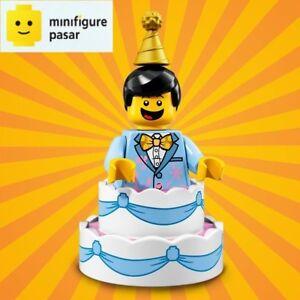 Lego 71021 Collectible Minifigure Series 18: No 10 - Birthday Cake Guy - SEALED