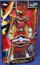 "Power Rangers Mystic Force 12"" Mega Red Fire Dragon Talking Ranger New 2006"