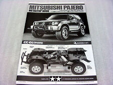 Tamiya 47331 Mitsubishi Pajero 2017 Vintage CC01 1993 User's Instruction Manual