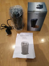 "ANDREW JAMES COFFEE NUT GRINDER ELECTRIC NEW UNUSED NIB 7"" QF-3001HY FREE UK P&P"
