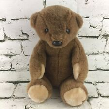 Teddy Bear Plush Brown Classic Stuffed Animal Sitting Soft Comfort Toy