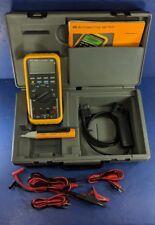Fluke ET-88 Digital Multimeter, Excellent, Screen Protector, Case