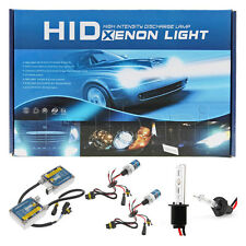 New HID Xenon Headlight Conversion Kit H1 Low High Beam 3200LM 6000K 9-16V