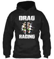Drag Racing Hobby - Gildan Hoodie Sweatshirt
