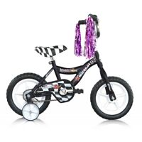 Micargi MBR12Y-B-BK 12 in. Boys BMX Bicycle Black - 12 x 7 x 28 in.