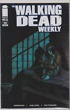IMAGE THE WALKING DEAD WEEKLY  single issue  #20 VF/NM/M R. KIRKMAN