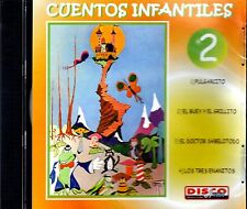 CUENTOS INFANTILES VOL.2 - EN ESPAÑOL  - CD