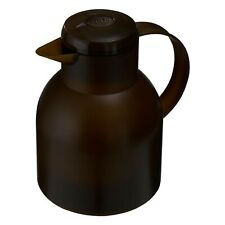 Emsa Samba Insulating Jug Quick Press 1 L Dark Brown Jug 509820 Coffee Tea