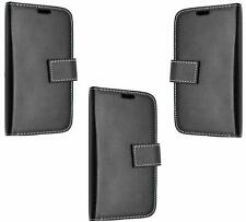 Case Cover For Samsung Galaxy Ace S5830 Leather Wallet Black book