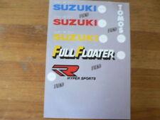 SUZUKI PAGE PAPER SUZUKI FALKO FULL FLOATER,POWERED BY,TOMOS,HYPER SPORTS